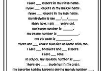 5AB CLASS IDEAS