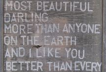 Word Love / by Katie Rink