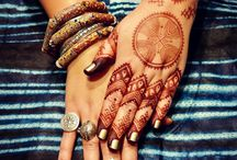 Hand of Fatima Henna Art from the soul
