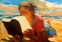 Art Inspirations PEOPLE READING