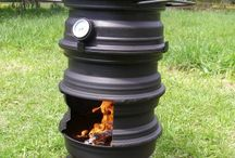 Rocket stoves
