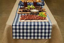 BBQ - Table settings