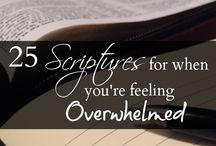 Encouraging Scriptures.