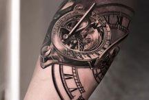 tatuaż mapa