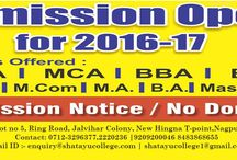 Offered Courses design for you / Professional career options that you can choose to pursue after completion of 12th only at shatayu college of professional studies. We are authorised admission center for RTM and Tilak Maharashtra university Pune Looking for MBA/MCA/BBA/BCA/BA/BSC Admissions Get in touch with us for more detail NO DONATION AND MORE THAN 95% RESULT .