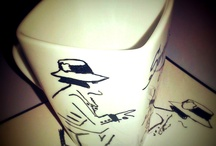 Hand Painted cup's/ mug's / by Fausta Babenskaite