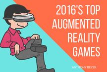 Augmented Reality Games / Anthony Beyer talks about top augmented and virtual reality games following the popularity of Pokemon Go.