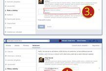 Facebook návody / Užitečné návody pro nastavení a úpravy firemních stránek v sociální síti Facebook.