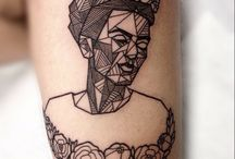 Sculpture, Portrait, Skull Tattoos