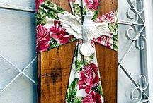 quadro de cruz
