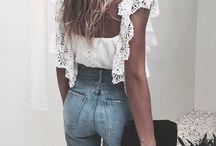 blusas de encaje