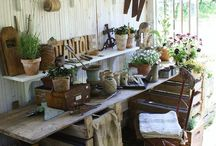 The potting shed / Gardening