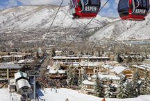 Aspen / Luxurious mountain playground for the world's elite, offering diverse skiing and a renowned après scene. http://www.secretearth.com/destinations/605-aspen