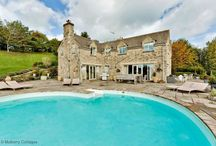 Cotswolds countryside / Cotswolds country full of beautiful villages quaint cottages waiting to be explored