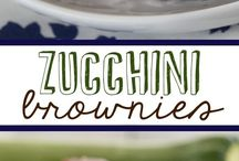 Zucchini Recipes / I have so much zucchini in the garden, I need to find ways to use it!