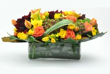 Fall Flowers / From Thanksgiving Center pieces to Halloween decorations.