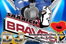 Remembrance Day Atom A/B Tournament / Next Weekend come Support Division youth Hockey at Pearks Arena Victoria  #yyj #djdaddymack #weddingDJ #affordableDJ #eventDJ #vancouverisland #birthdays #djdaddymackspacemusicbar #SaanichBravesDJ