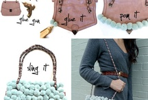 DIY: Bags / DIY ideas/inspirations in bag making and re-purpose materials to make it into a  new bag