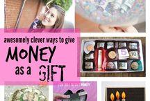 Birthday ideas / Gift money