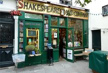 Book stores around the world and the people that wrote those books!
