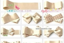 Bows, bands, clips, oh my! / by Lidia Diaz
