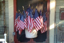 You're A Grand Ole Flag / I love anything Red, White and Blue. / by Carol Casey