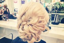 Upstyles / Hair styles I've done in the salon