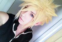 Final Fantasy / Cloud cos-test, FFFFFFF  ///wig is hella evil (ノಠ益ಠ)ノ ///