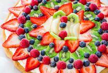 Decorazioni torte frutta