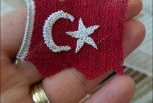 türk bayrağı modeli