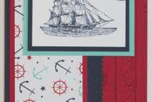 Cardmaking - moře, ryby