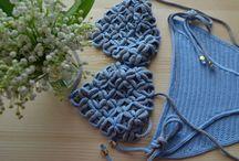 crochet praia