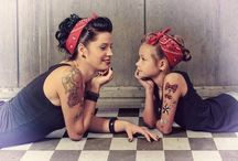 Mommy and Me Pin Up
