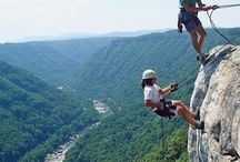 Climbing & Rappelling / Climb your way to the best views of the Gorge. We've got climbing for all skill levels!