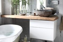 Modern Bathrooms / Create a relaxing, albeit small, space to enjoy some 'me time'
