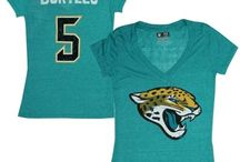 Women's Jags Apparel / Rep the Black, Gold and Teal all the time.