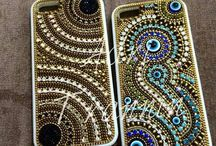carimbos e capa celular