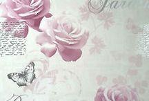 shabby chic wallpaper