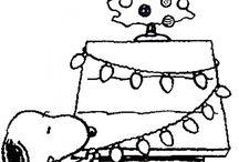 Christmas drawing