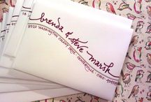 envelopes & beautiful letters / Lettering • words • calligraphy • paper tales • and other sexy handwriting stuff