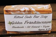 Vegan Bar Soaps / All natural, handcrafted vegan bar soaps by Kilted Suds
