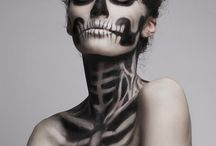 Halloween and freaky makeup/ verrücktes Styling und Makeup