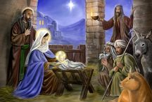 Away in a manger / Beautiful Nativity/manger scenes  / by Cindy Hertz