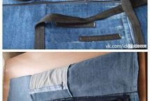 denim satchel
