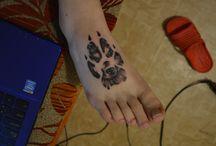Tattoo / Pomaly ale isto sa tetovania na mne budu množiť a množiť až pokiaľ ma to prestane baviť...