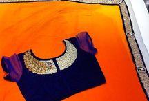 Interesting saree designs