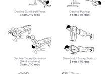 Gym workout plans
