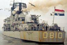 Marine historie / Geschiedenis van de Nederlandse marine.