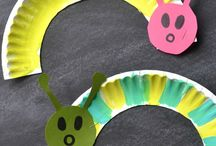 paper plate crafts / Be creative with paper plates. It's cheap, it's in every house and it's recyclable!