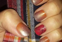 Jamberry Autumn Inspired Nail Board / All about Autumn theme Jamberry Nails